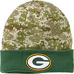 Men's New Era Green Bay Packers Camo Knit Hat at Legendary Whitetails