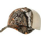 Men's Tree Bark Big Game Camo Distressed Buck Cap at Legendary Whitetails