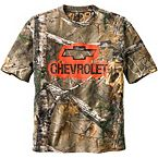 Men's Trucked Up Chevy Short Sleeve Camo T-Shirt at Legendary Whitetails