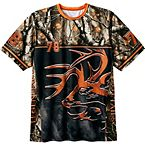 Men's Carbon Buck Big Game Camo T-Shirt at Legendary Whitetails
