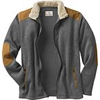 Men's Homestead Full Front Zip Sweater Fleece at Legendary Whitetails