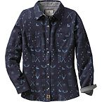 Ladies Cottage Escape Plaid Flannel Shirt at Legendary Whitetails
