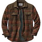 Men's Deep Woods Plaid Shirt Jacket at Legendary Whitetails
