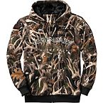 Men's Legends Black Camo Thunder Full Zip Hoodie at Legendary Whitetails