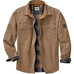 Men's Journeyman Flannel Lined Rugged Shirt Jacket at Legendary Whitetails