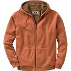 Men's Orange Sherpa Lined Highland Hoodie at Legendary Whitetails