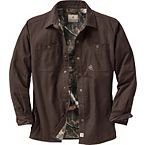 Men's Creek Bed Canvas Shirt Jacket at Legendary Whitetails