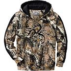 Men's Camo Casual V-Neck Outfitter Hoodie at Legendary Whitetails