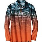 Men's Copper River ¼ Zip Fishing Shirt at Legendary Whitetails