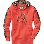 Ladies Big Game Camo Outfitter Hoodie at Legendary Whitetails