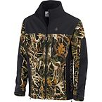Mens Legends Black Camo Hurricane Softshell Jacket at Legendary Whitetails