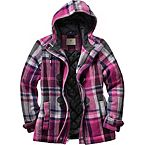 Women's Dusty Trail Plaid Jacket at Legendary Whitetails