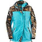 Ladies Big Game Camo Splash Rain Jacket at Legendary Whitetails