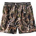 Men's Midnight Timber Knit Boxer Shorts at Legendary Whitetails