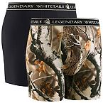 Men's Legendary Performance Boxer Shorts 2-Pack at Legendary Whitetails