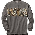 Men's Big Game Camo Charcoal Lounge Top at Legendary Whitetails