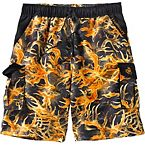 Men's Whitewater Legends Blaze Camo Swim Trunks at Legendary Whitetails