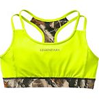 Ladies Camo Stadium Reversible Sports Bra at Legendary Whitetails