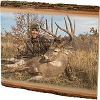 Personalized Natural Wood Wall Plaque at Legendary Whitetails