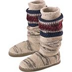 Women's Americana Knit Slipper Boot at Legendary Whitetails