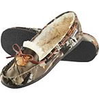 Women's Big Game Camo Moccasins at Legendary Whitetails