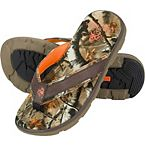 Men's Big Game Camo Backwater Flip Flops at Legendary Whitetails