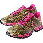 Women's Mamba Ultra Cross Pink Camo Hiking Shoe at Legendary Whitetails