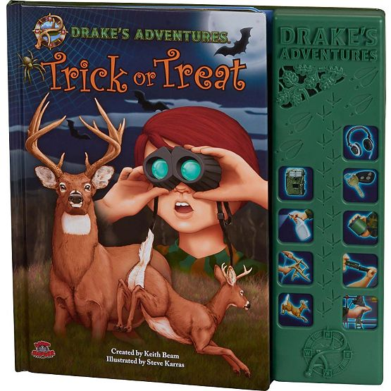 Drake's Adventures Trick or Treat Audio Book at Legendary Whitetails