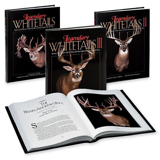 Legendary Whitetails Book Set I, II & III at Legendary Whitetails