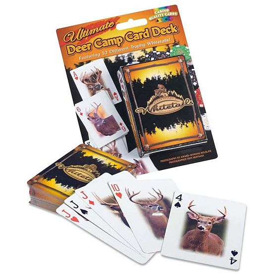 Ultimate Deer Camp Card Deck at Legendary Whitetails