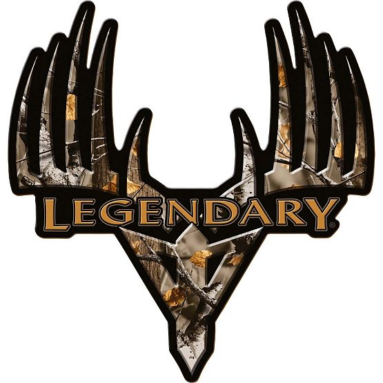 Big Game Camo Monster Buck Truck Decal at Legendary Whitetails