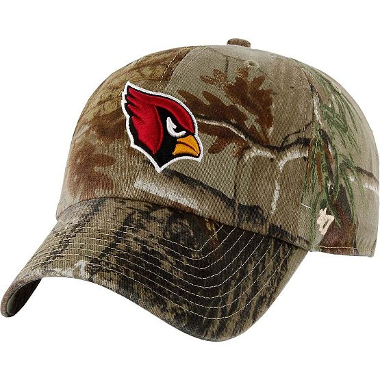 Arizona Cardinals Realtree Camo Clean Up Cap at Legendary Whitetails