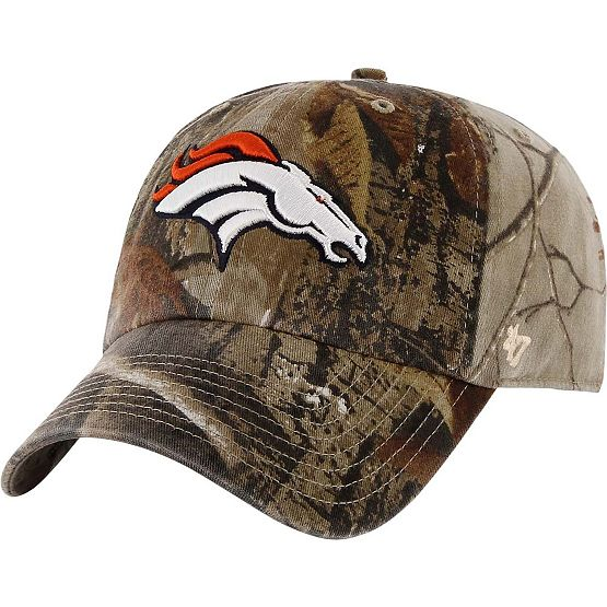 Denver Broncos Realtree Camo Clean Up Cap at Legendary Whitetails