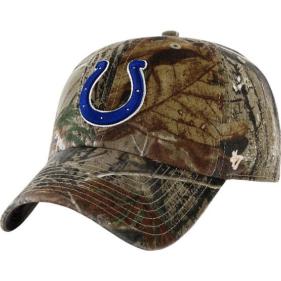 Indianapolis Colts Realtree Camo Clean Up Cap at Legendary Whitetails