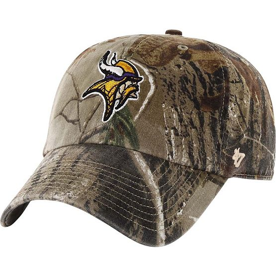 Minnesota Vikings Realtree Camo Clean Up Cap at Legendary Whitetails