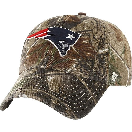 New England Patriots Realtree Camo Clean Up Cap at Legendary Whitetails