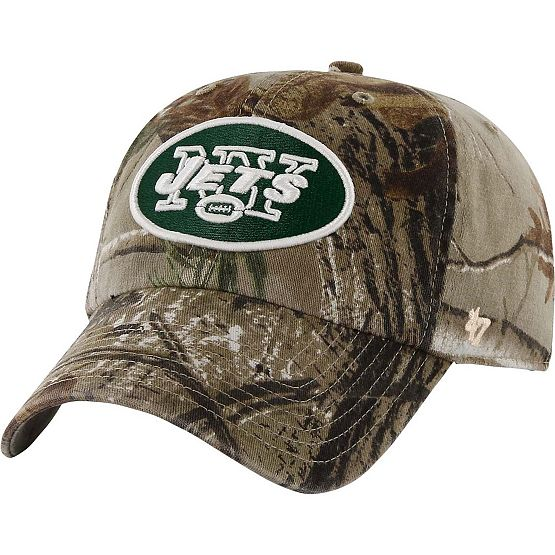 New York Jets Realtree Camo Clean Up Cap at Legendary Whitetails