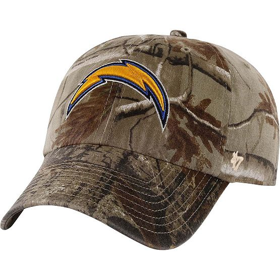 San Diego Chargers Realtree Camo Clean Up Cap at Legendary Whitetails