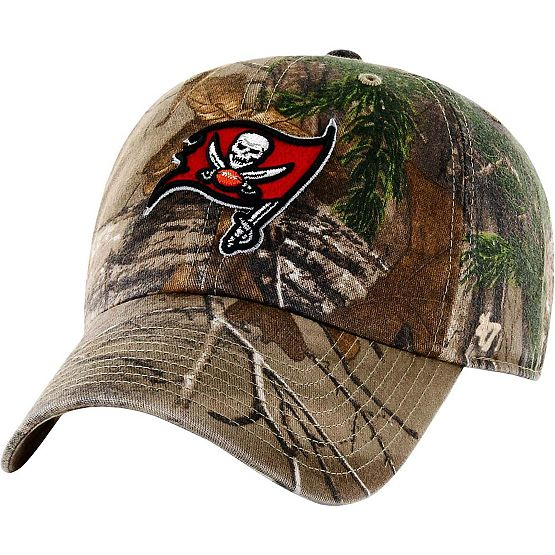 Tampa Bay Buccaneers Realtree Camo Clean Up Cap at Legendary Whitetails