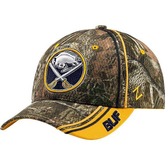 Buffalo Sabres Mossy Oak Camo NHL Slash Cap at Legendary Whitetails