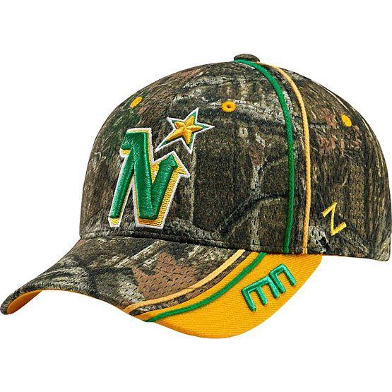 Minnesota North Stars Mossy Oak Camo NHL Slash Cap at Legendary Whitetails