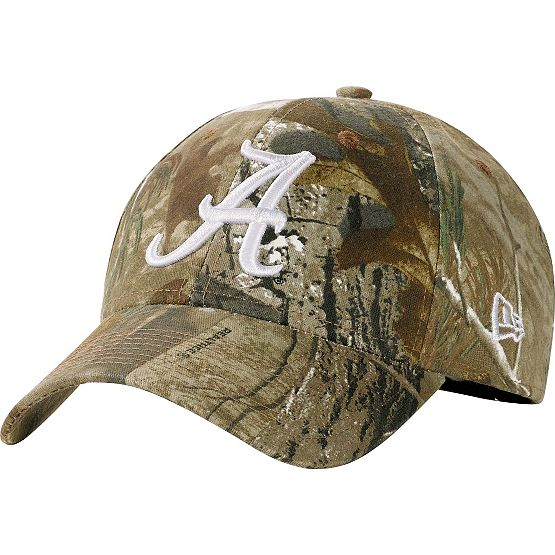 Alabama Crimson Tide Realtree Collegiate Cap at Legendary Whitetails