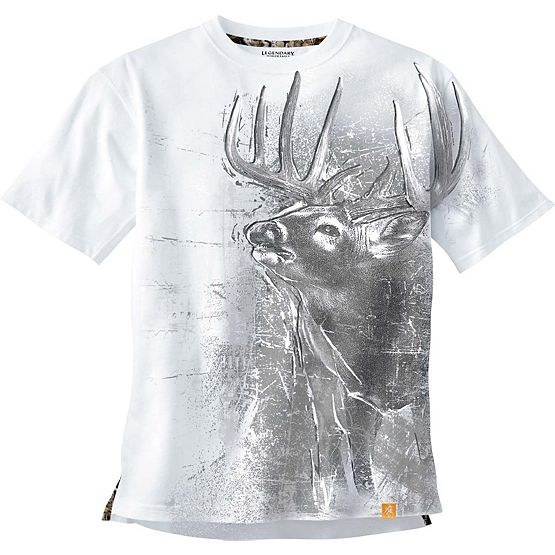 Men's  Instincts Short Sleeve Cotton T-Shirt at Legendary Whitetails