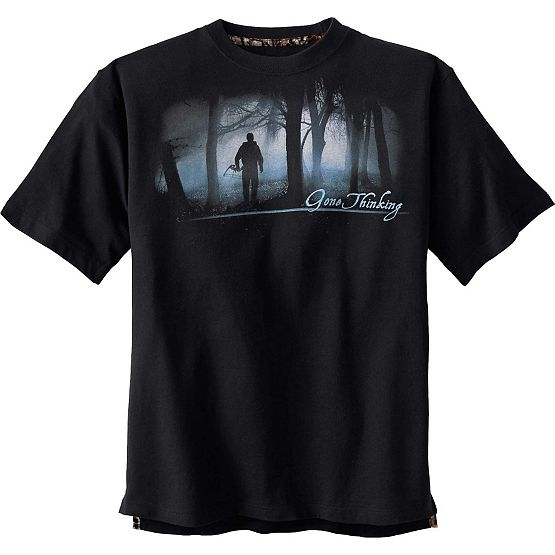 Gone Thinking III Short Sleeve T-Shirt at Legendary Whitetails