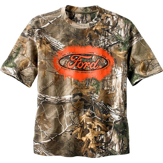 Men's Trucked Up Ford Short Sleeve Camo T-Shirt at Legendary Whitetails