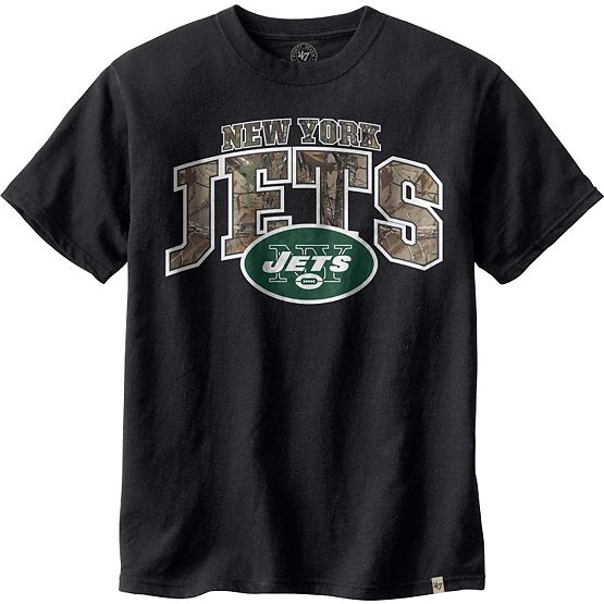 New York Jets Realtree Camo Flanker T-Shirt at Legendary Whitetails