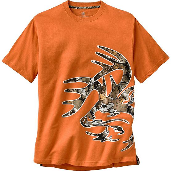 Men's Wild Buck Big Game Camo T-Shirt at Legendary Whitetails