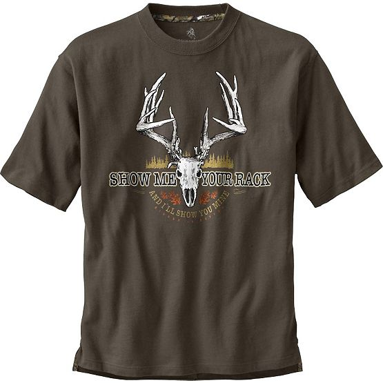Men's Show Me Your Rack Short Sleeve T-Shirt at Legendary Whitetails