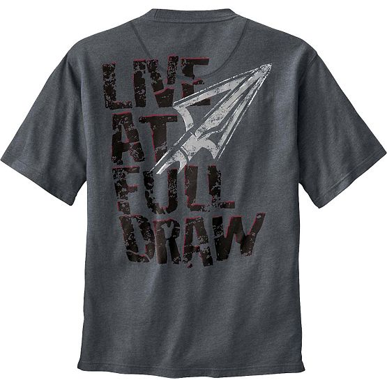 Men's Live at Full Draw Short Sleeve T-Shirt at Legendary Whitetails