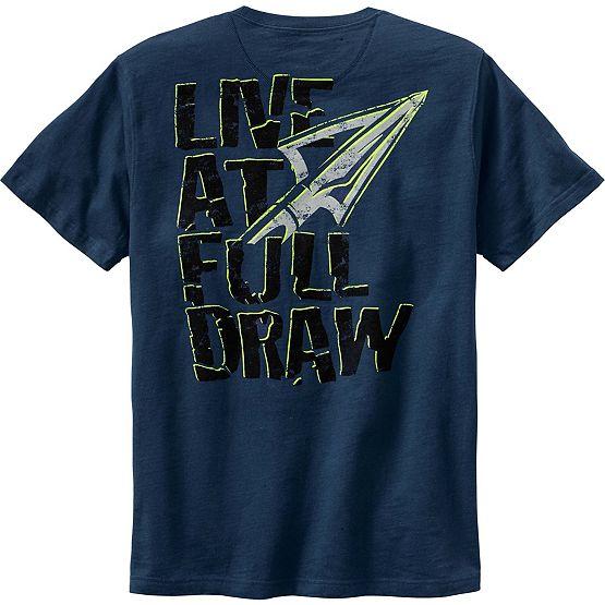 Men's Live at Full Draw Short Sleeve T-Shirt at Legendary Whitetails